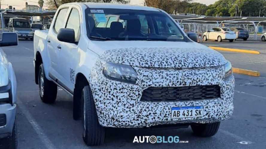 Flagra: Nova Chevrolet S10 2021 aparece agora na versão de entrada