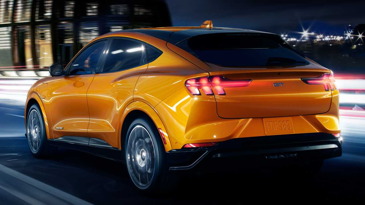Ford Mustang Mach-E Seems To Present The Same Tesla Model Y Design Flaw