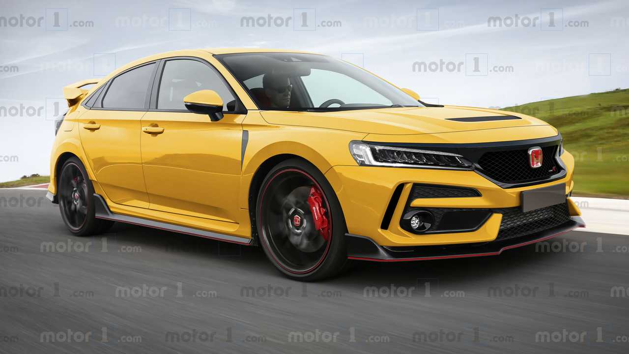 Honda Civic Type R (Kommende Generation als Rendering)