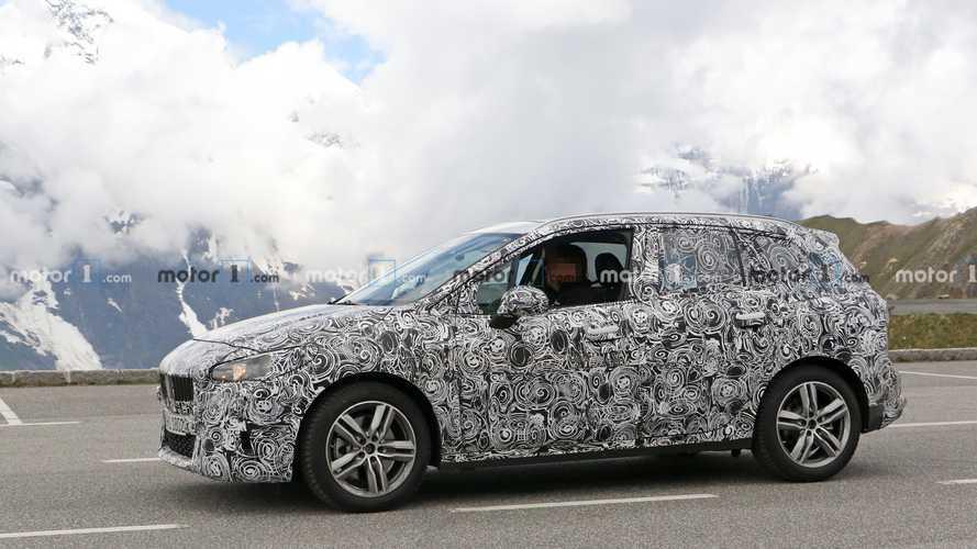 Yeni BMW 2 Series Active Tourer, Nürburgring'de görüntülendi