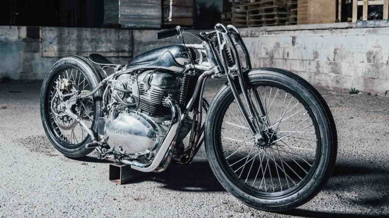 The Royal Enfield Kamala Started Life As A Continental GT 650