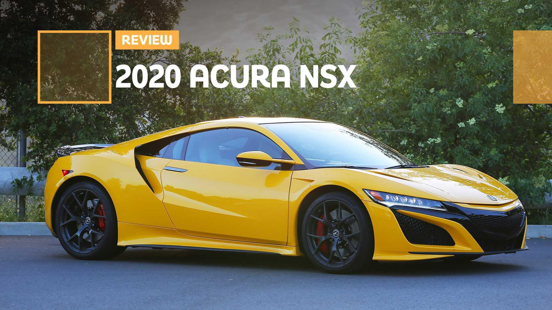 2020 Acura NSX Rumors