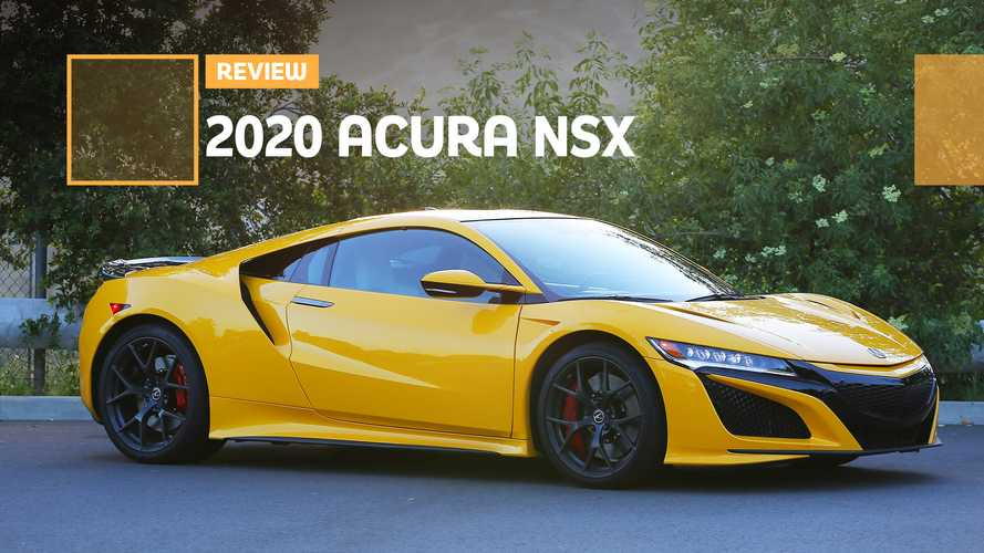 The 2020 Acura NSX Is Even Better At Its Base Price
