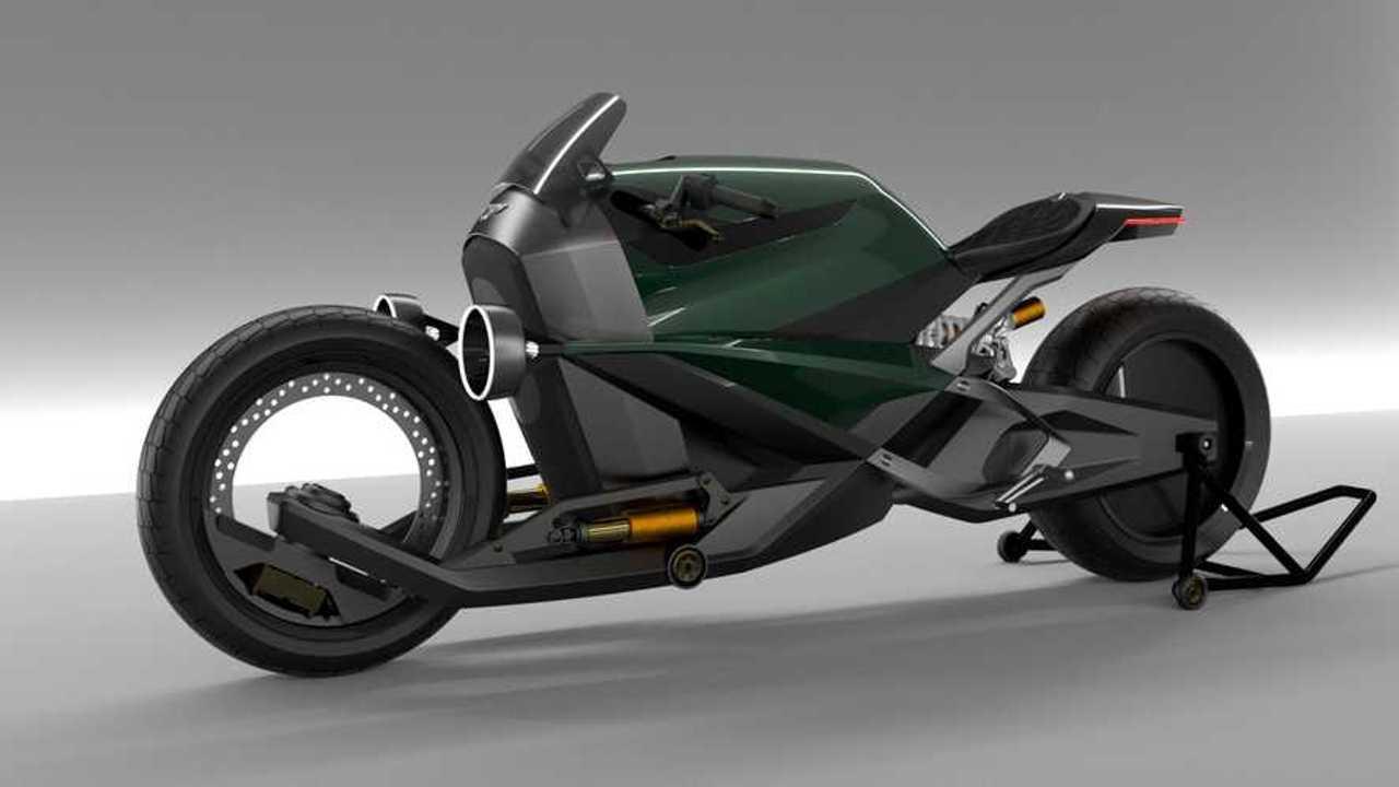 Bentley Hooligan Electric Motorcycle Concept