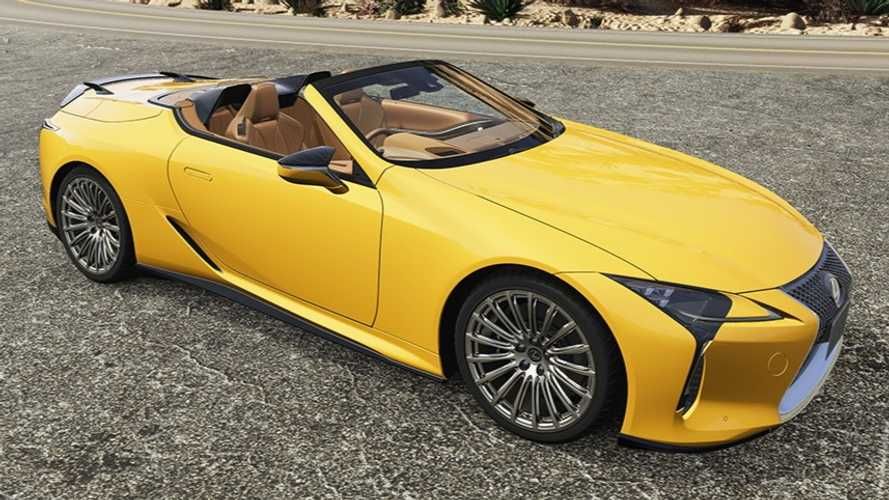 Lexus LC Gets A Full Arsenal Of TRD Upgrades In Japan