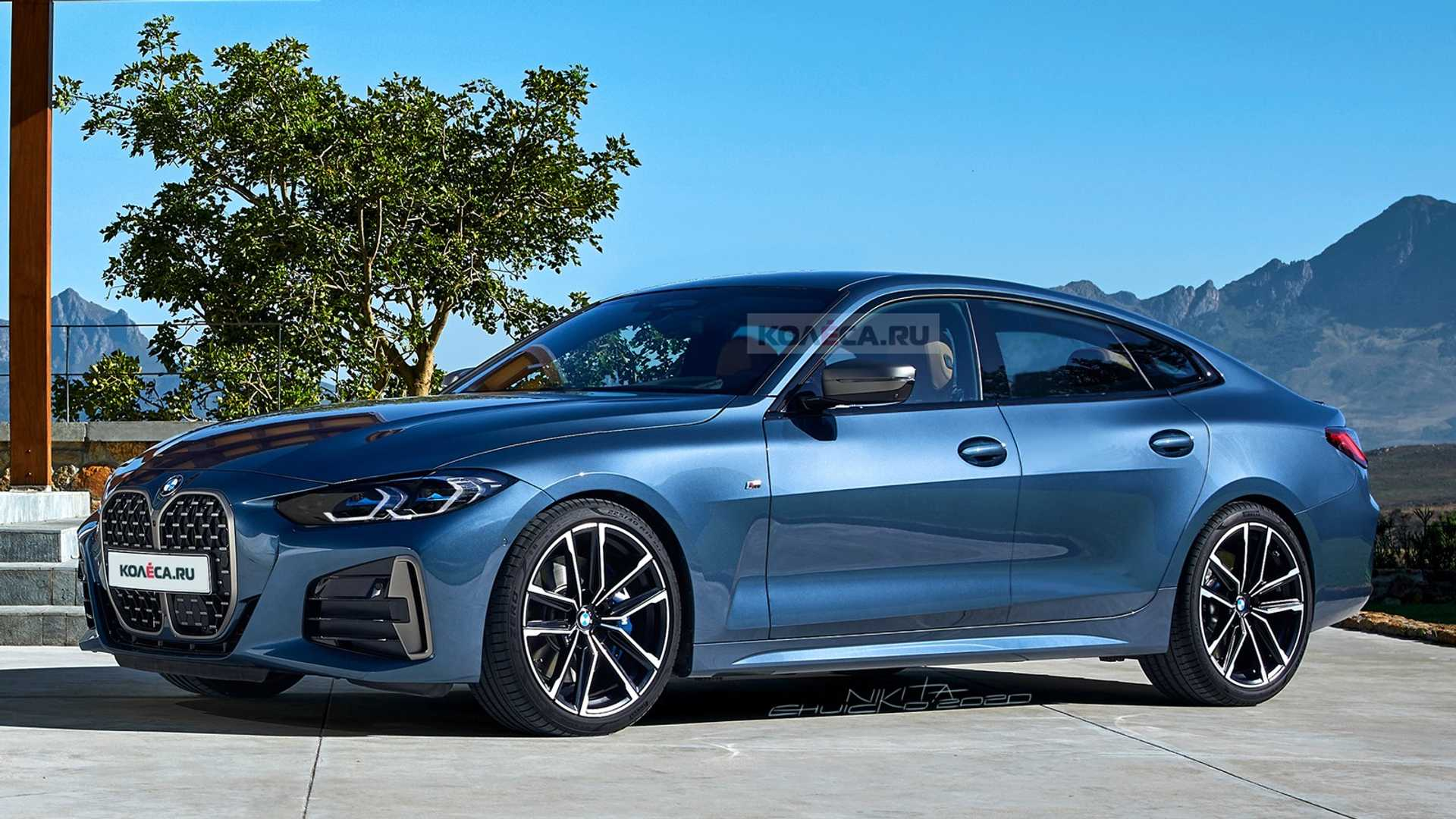Spy Shoot BMW Gran Coupe 2021