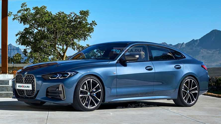BMW 4 Series Gran Coupe dresses in virtual production clothes