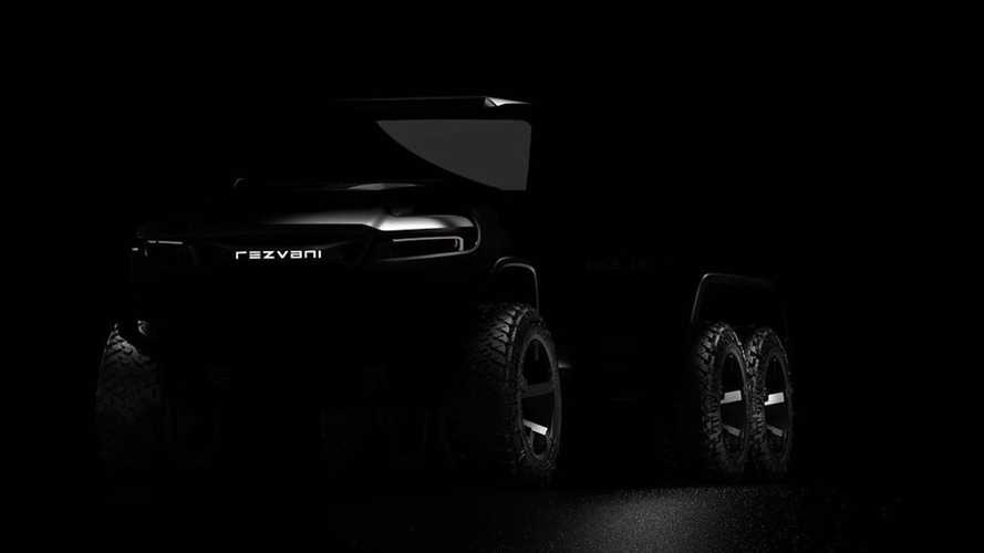 Rezvani Hercules 6x6 Teased For Summer Debut, Now Open For Reservation