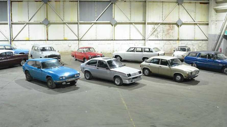 100 classics on sale with no reserve at Bicester Heritage today!