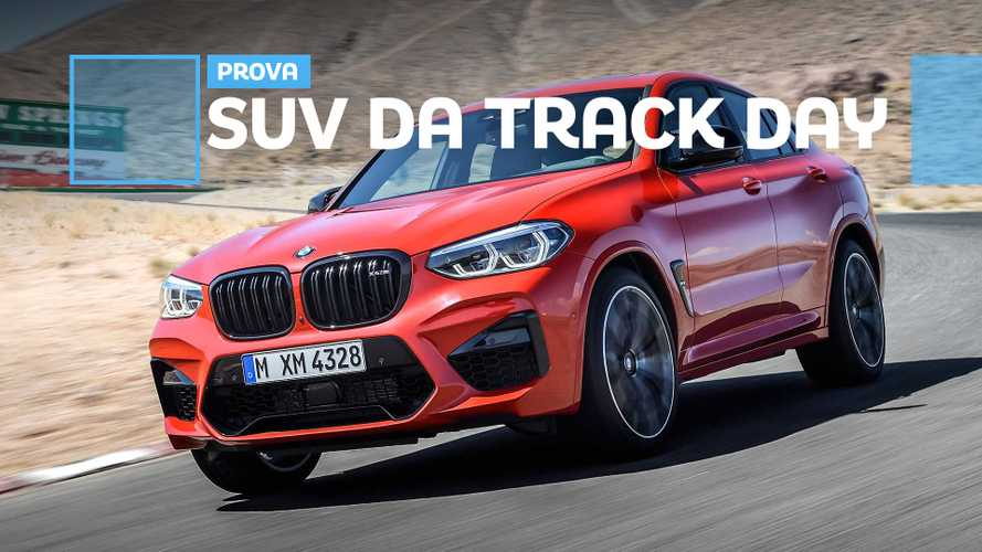 BMW X4 M Competition, com'è il SUV coupé da 510 CV