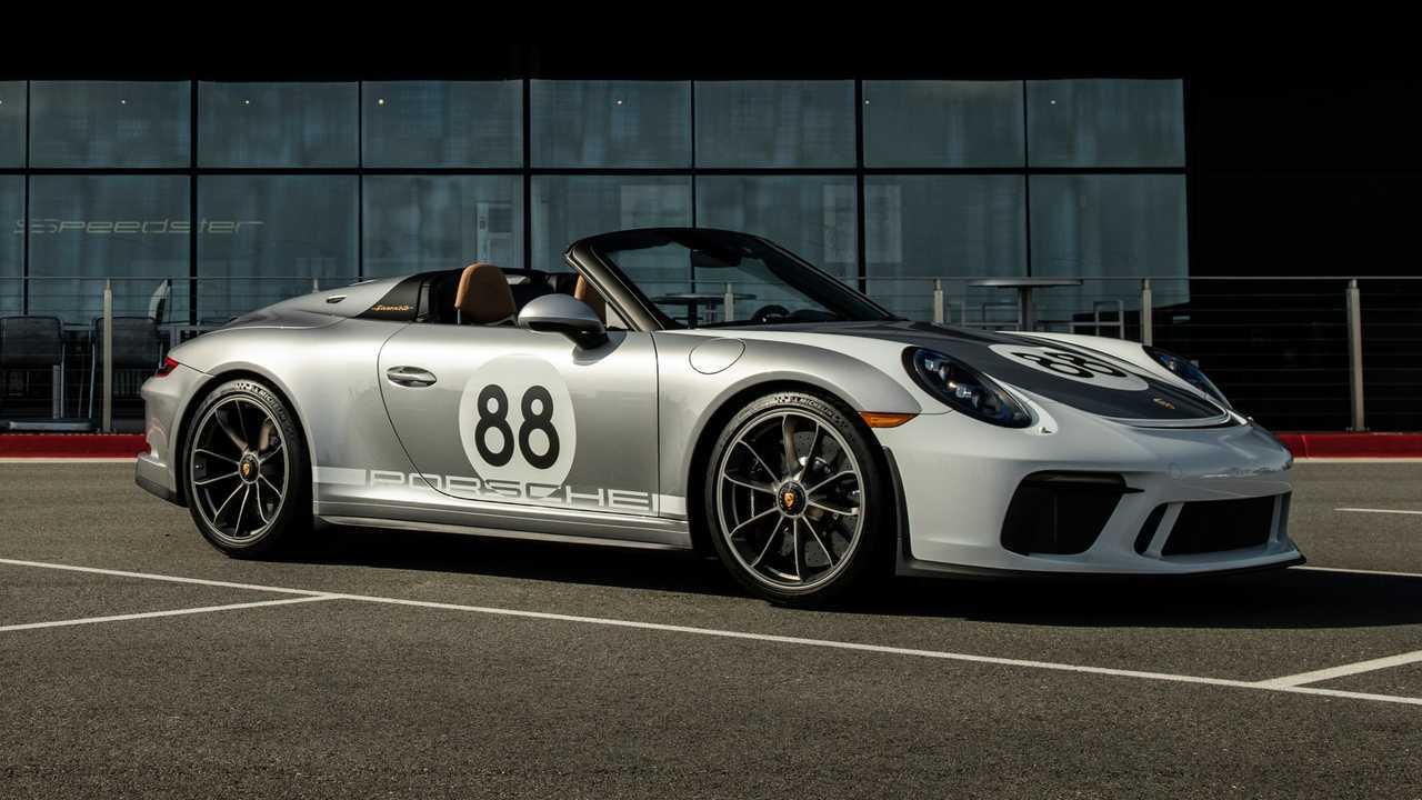 Porsche 911 Speedster, all'asta l'ultimo esemplare