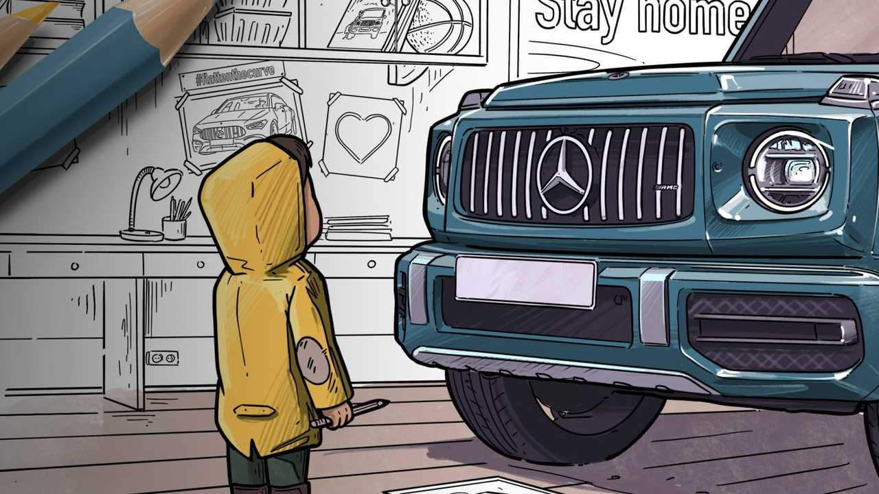 Coloriage Mercedes-Benz