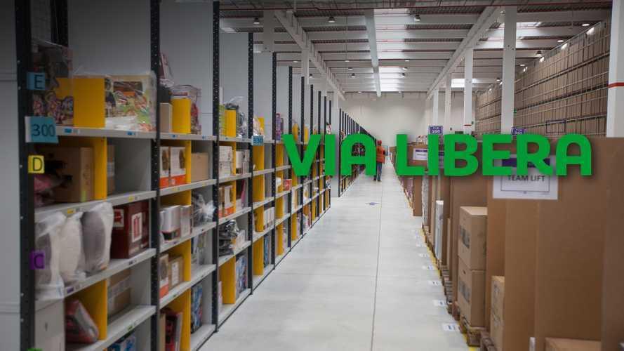 Coronavirus e trasporto, magazzini aperti, merci in movimento