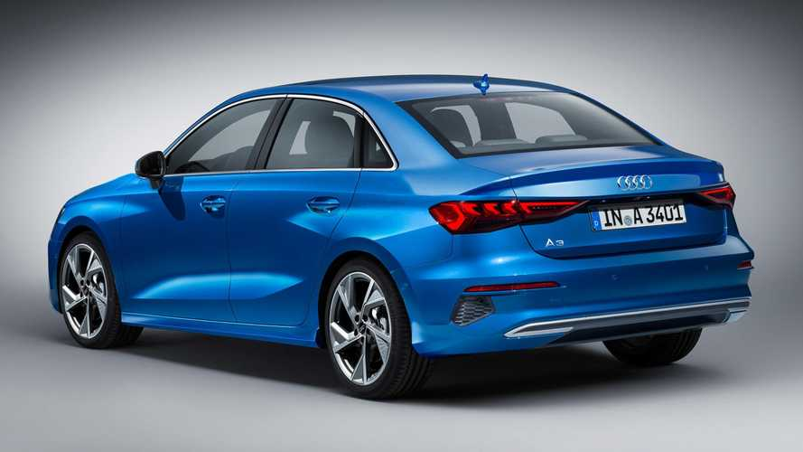 Novo Audi A3 Sedan 2021 - Projeção