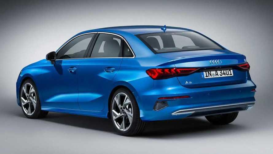 2021 Audi A3 Sedan rendering