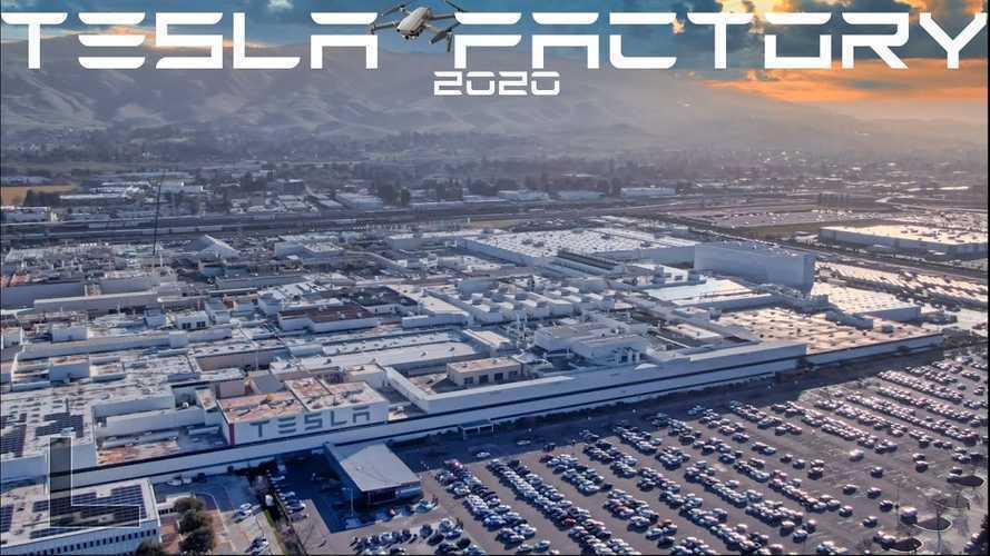 Tesla Factory - The World's Largest EV Factory: Video