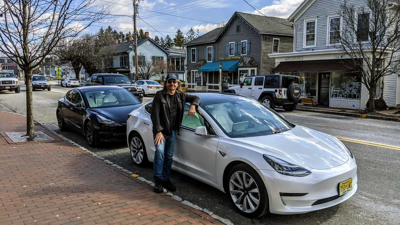 Model 3 with owner
