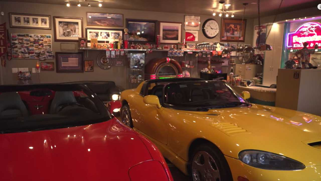 See The Ultimate Car-Filled Man Cave