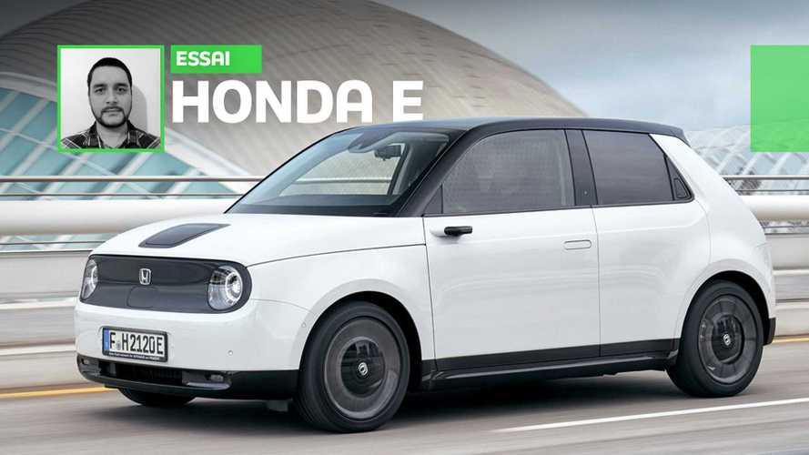 Essai Honda e (2020) - Le futur s'écrit aussi au passé