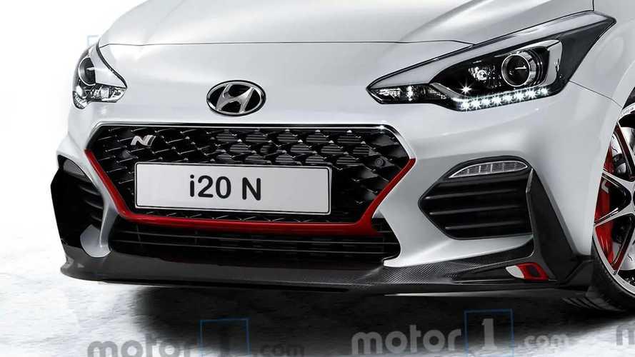 Illustration Hyundai i20 N