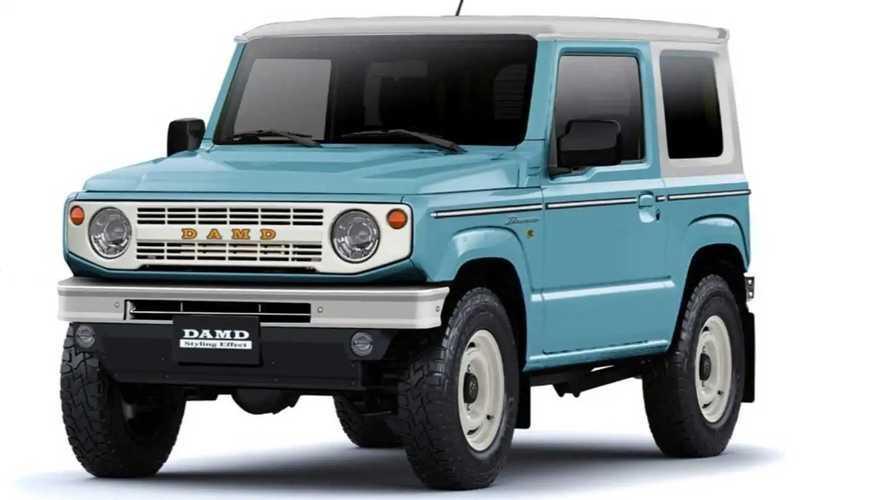 Ford-Bronco-Inspired Suzuki Jimny Teased Ahead Of Tokyo Auto Salon