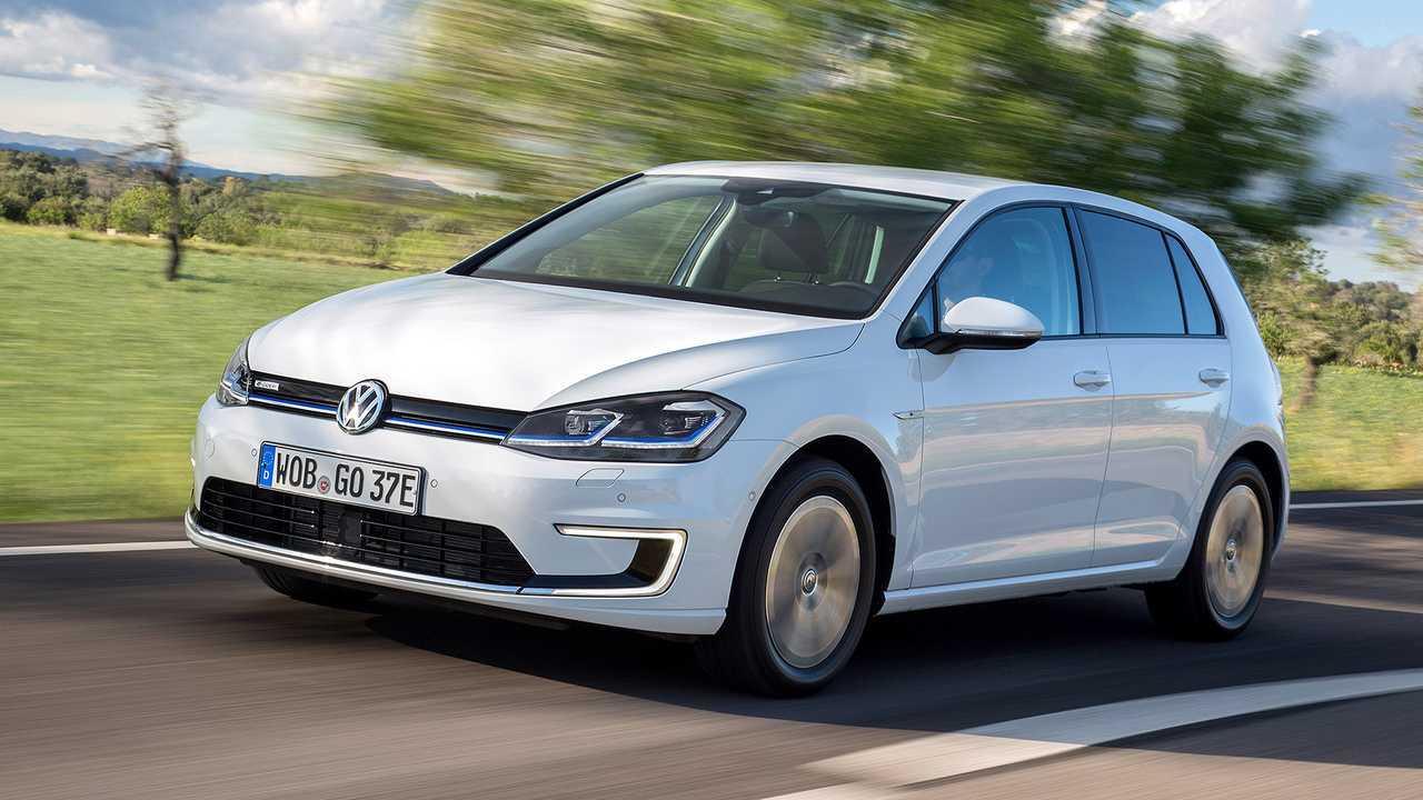 Die Elektro-Zukunft von VW: VW e-Golf
