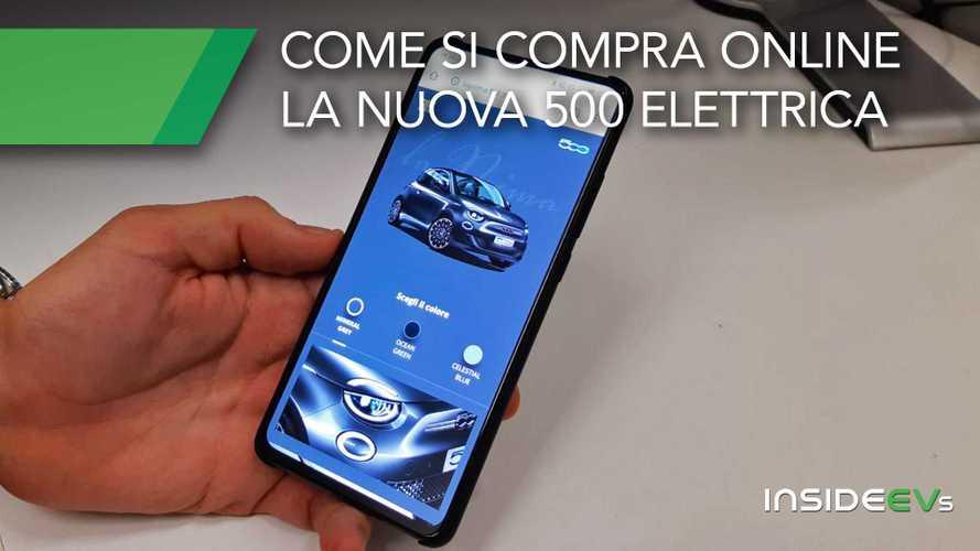 """Come si compra """"la Prima"""" Fiat 500 elettrica (online)"""