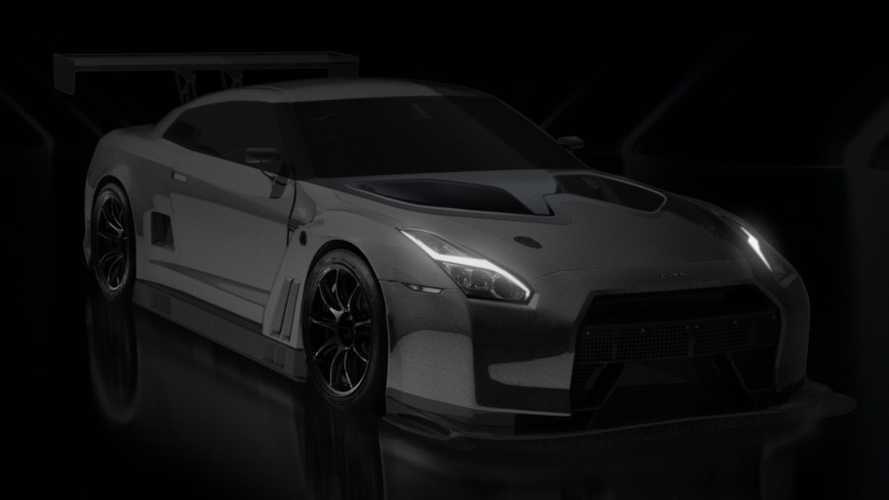This Nissan GT-R race car is rear-wheel drive and now UK road legal