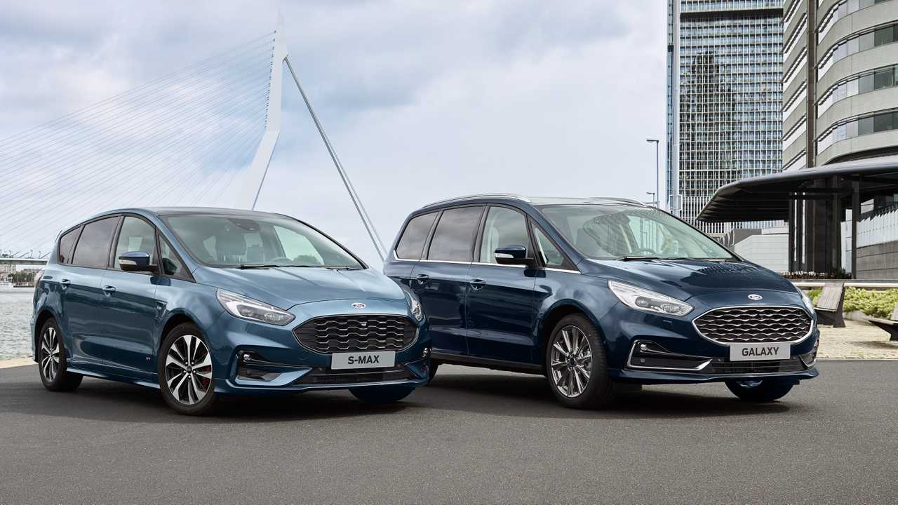 2020 Ford S-Max and Galaxy