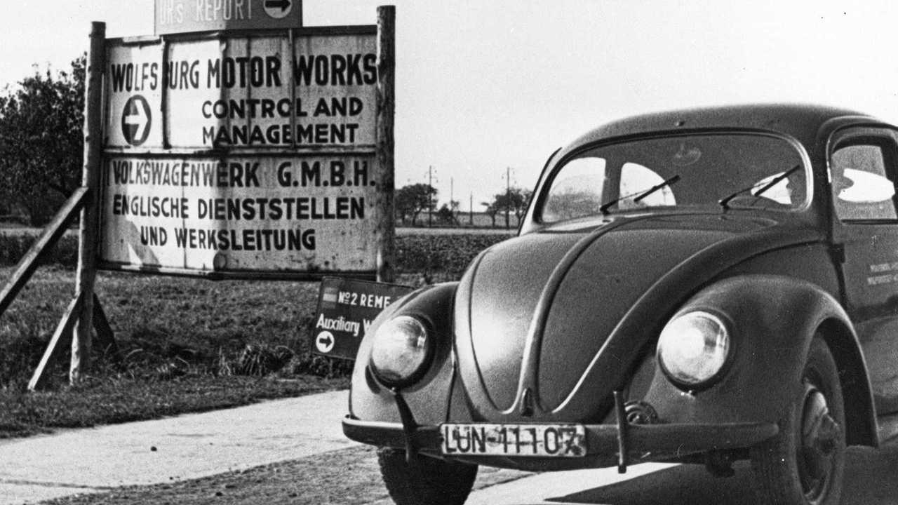 VW-Historie: Befreiung des VW-Werks