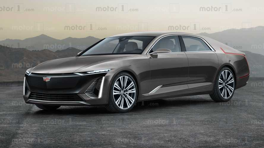 Cadillac Celestiq Luxury EV Sedan Previewed In Exclusive Rendering
