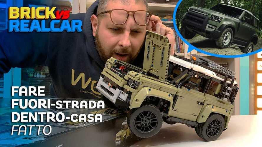 Land Rover Defender by LEGO: lo abbiamo costruito e guidato!