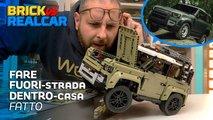 lego land rover defender video