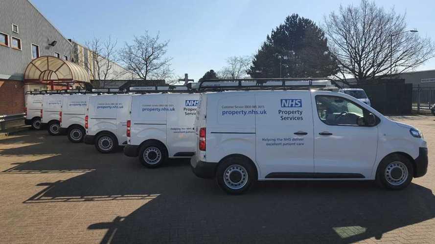 Citroen supplies 70 new vans to the NHS