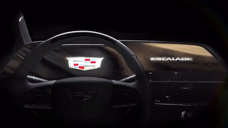 cadillac escalade teaser reveals display