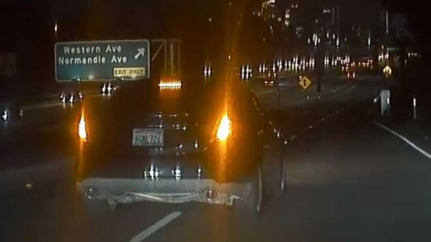 Watch Reckless Driver Brake Check A Tesla On Highway On Ramp: Video