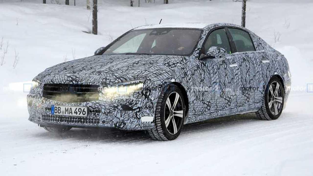 2022 Mercedes C-Class Sedan spy photo