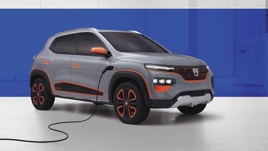 Dacia Spring Electric: Designstudie gibt Ausblick auf Elektro-SUV
