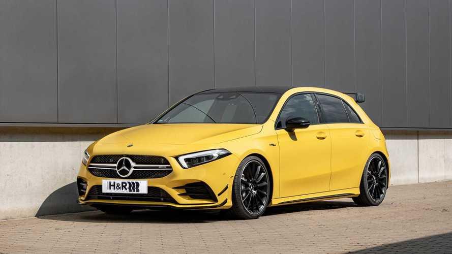 H&R-Sportfedern für den Mercedes-AMG A 35