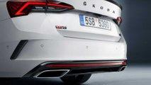 2020 Skoda Octavia RS iV teasers
