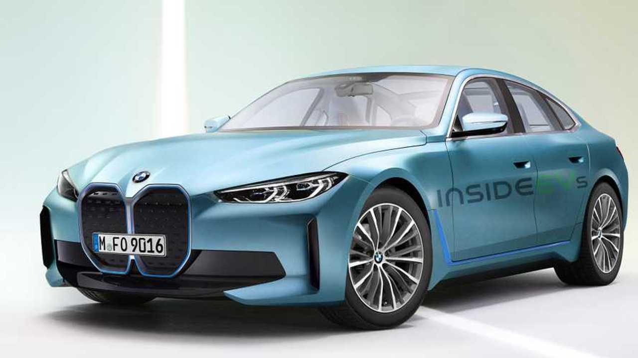 Version de production BMW i4