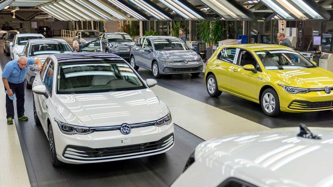Volkswagenwerk Wolfsburg, Golf 8 Produktion