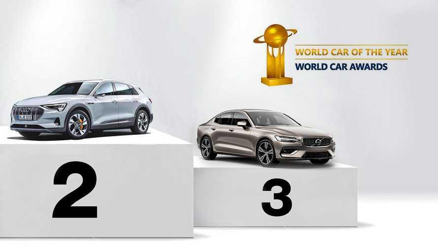 World Car of the Year, il secondo e il terzo posto degli ultimi 5 anni