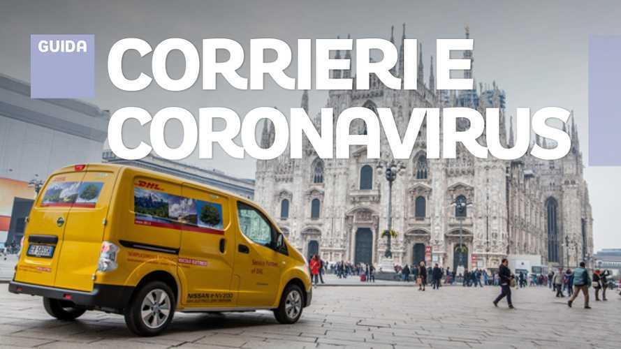 Coronavirus,  come proteggersi e altri consigli per autisti e corrieri
