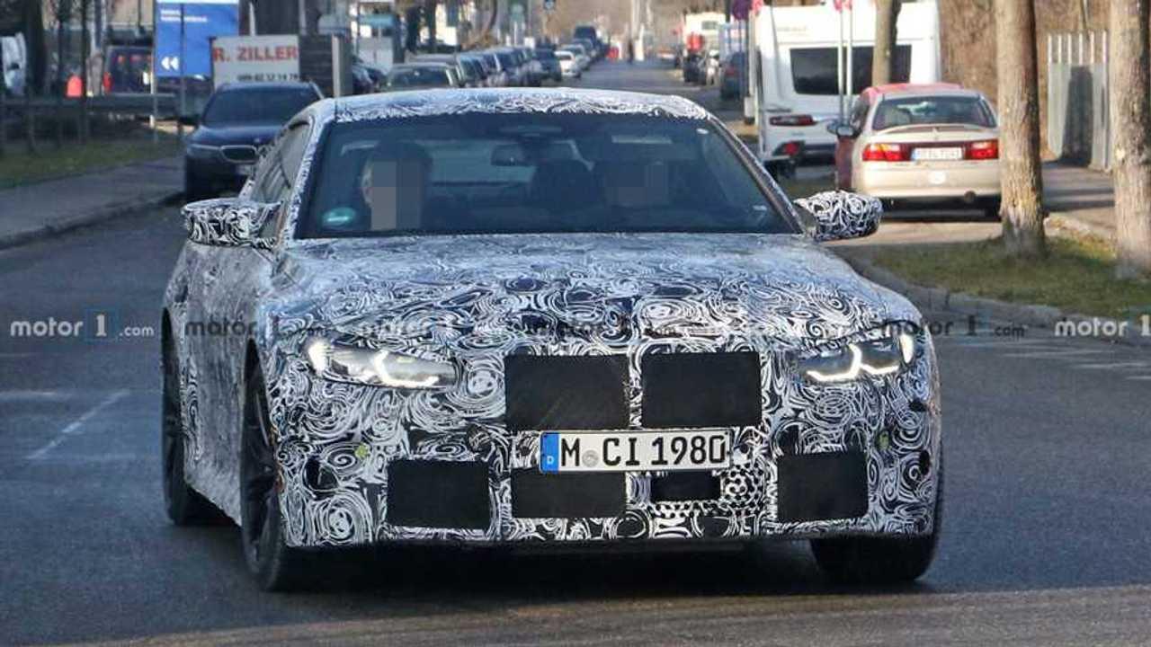 Photo espion BMW M4 Coupé