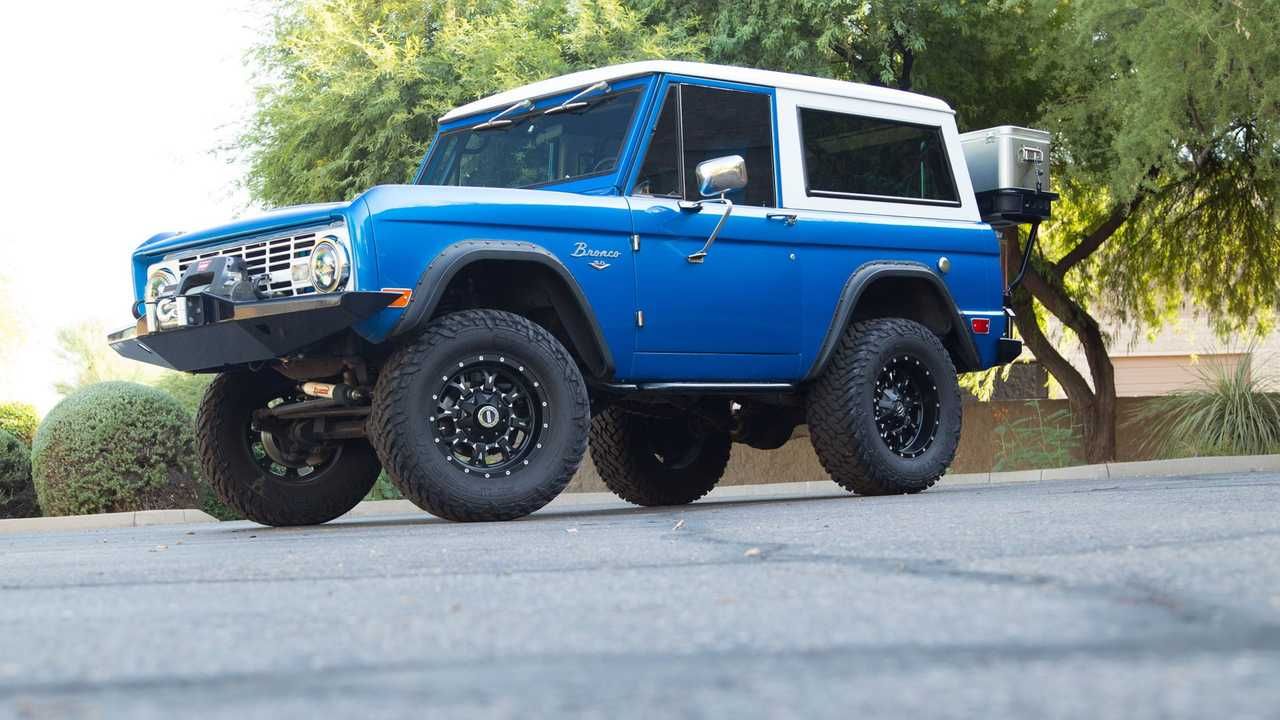 Ride High In This 1968 Ford Bronco Restomod