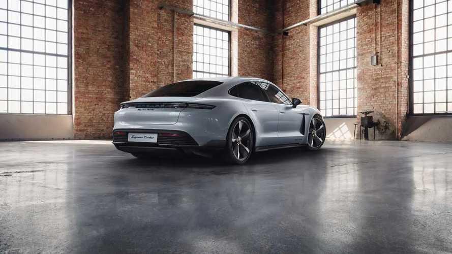 Porsche Taycan в исполнении Porsche Exclusive Manufaktur