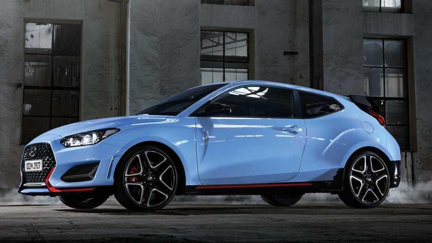 Intelligens duplakuplungos váltót kapott a Hyundai Veloster N