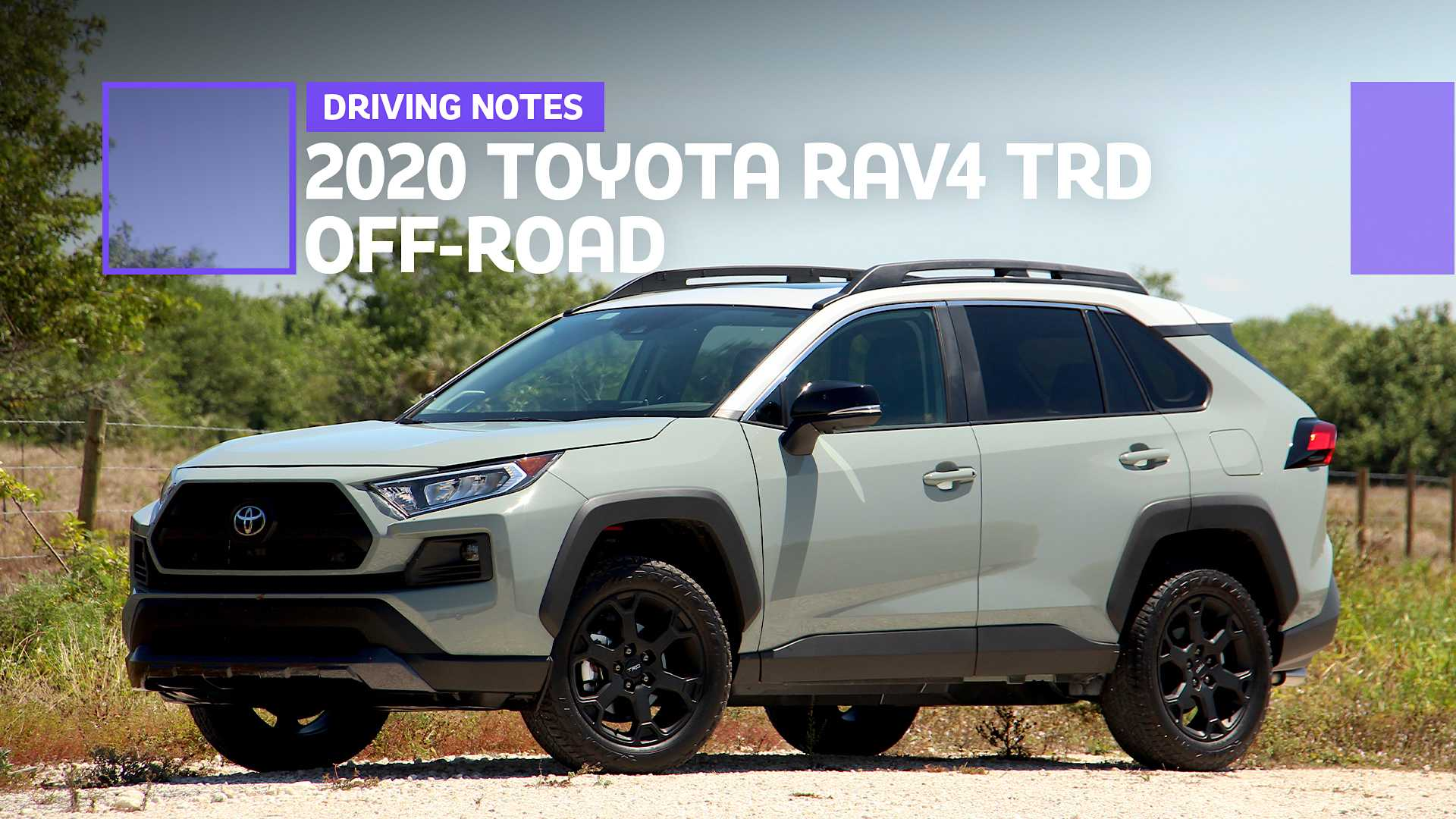 2020 Toyota Rav4 Trd Off Road Driving Notes Pay To Play