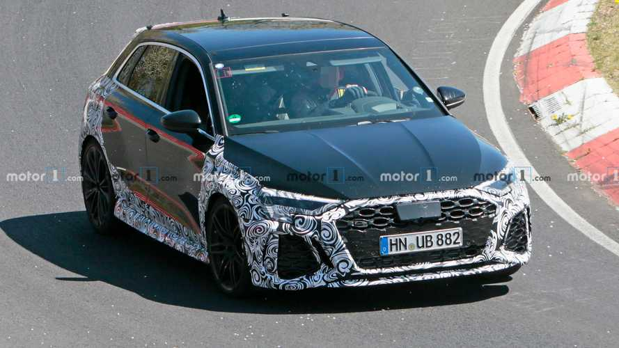 Watch The New Audi RS3 Sportback Go Berserk At The Nürburgring